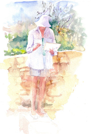Watercolour by Sharon Rogers