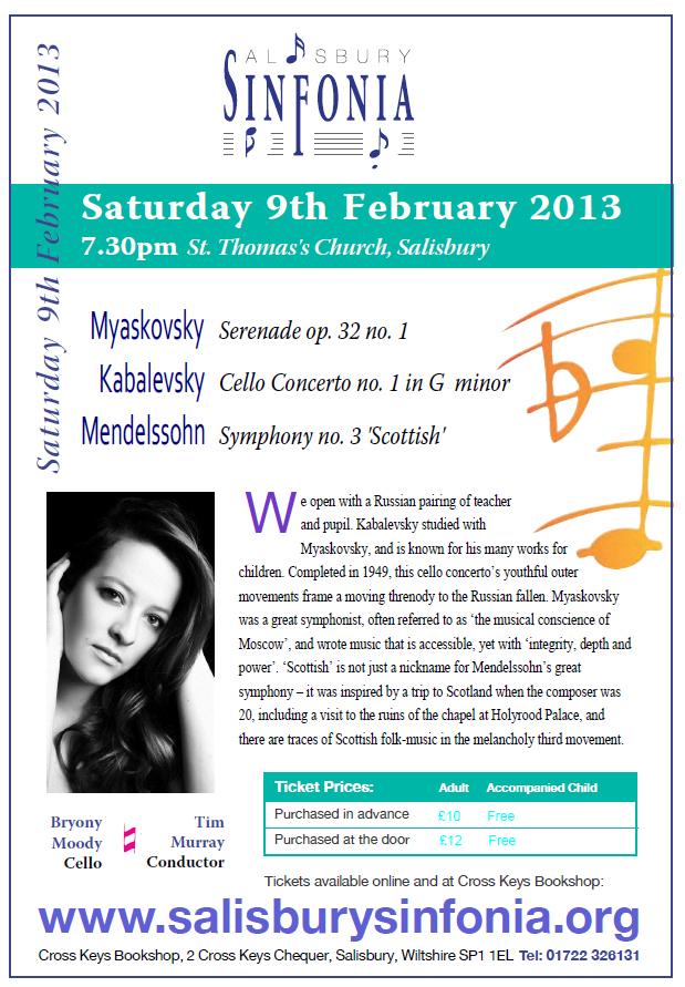 Sinfonia Feb 9 2013