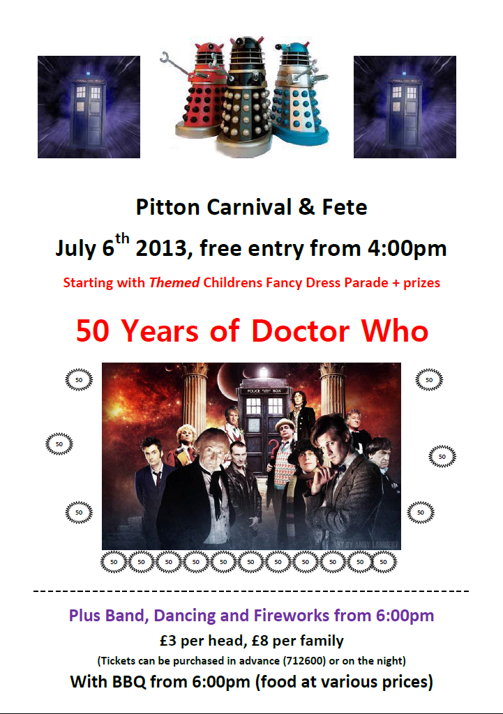 Pitton Carnival Poster 2013
