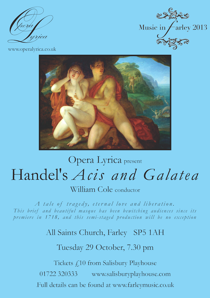 Acis and Galatea poster