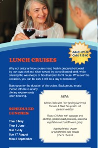 Blue Funnel lunch cruise