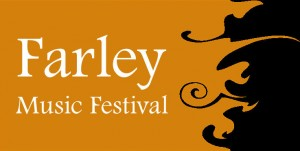 Farley Music Festival on black