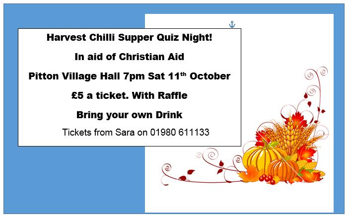 Harvest supper chili night
