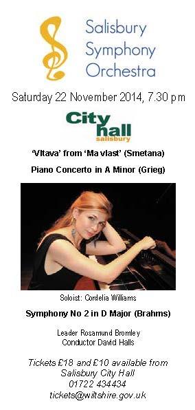 Salisbury Symphony Orchestra Eflyer_22_Nov_14