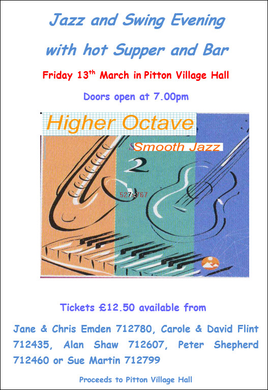 March Jazz and Swing