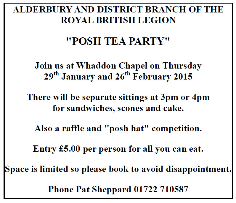 Posh Tea Party
