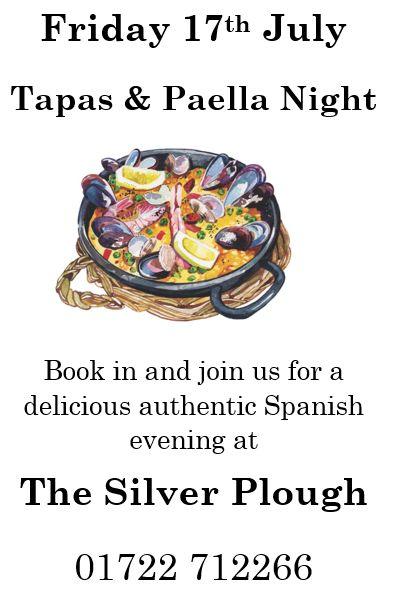 Tapas and Paella
