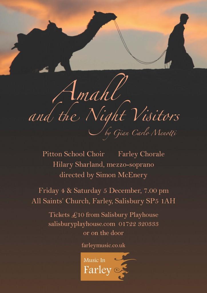 Amahl poster