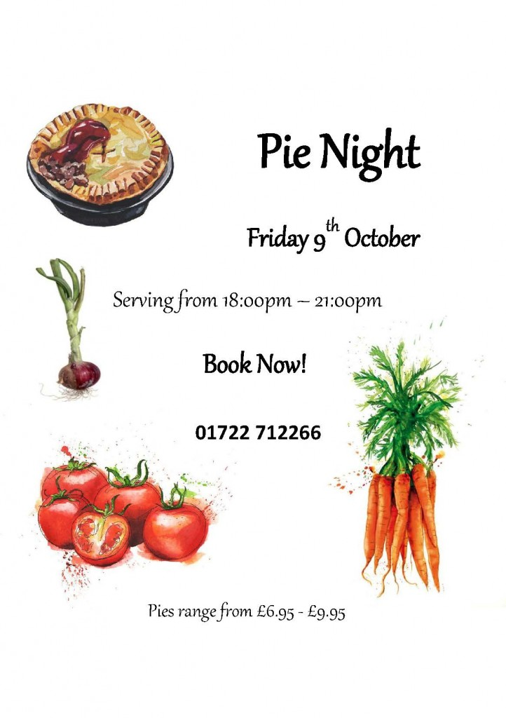 Pie Night Oct 2015