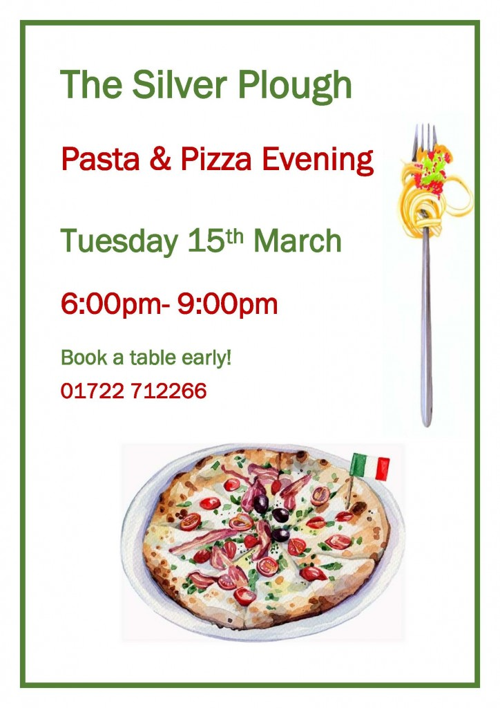 Pasta & Pizza eve 2016