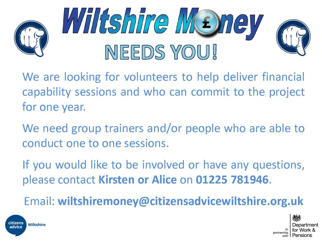 Wiltshire Money Recruitment poster-1