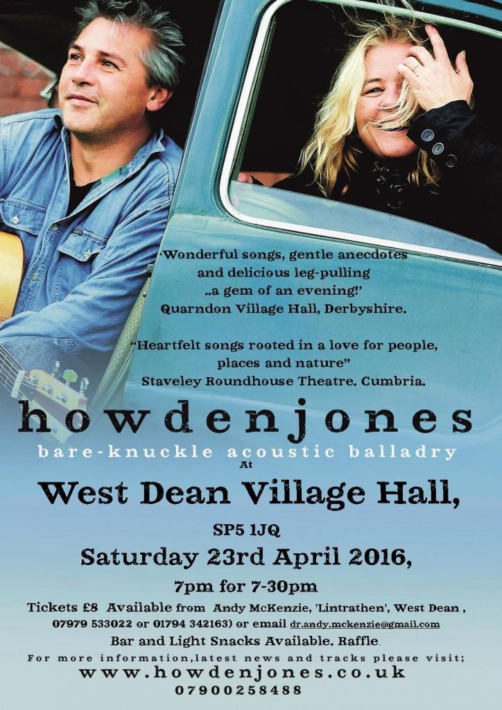 Howden Jones balladry