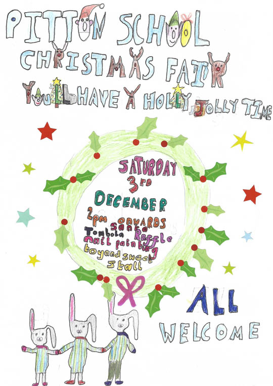 pitton-school-xmas-fair-poster-2016